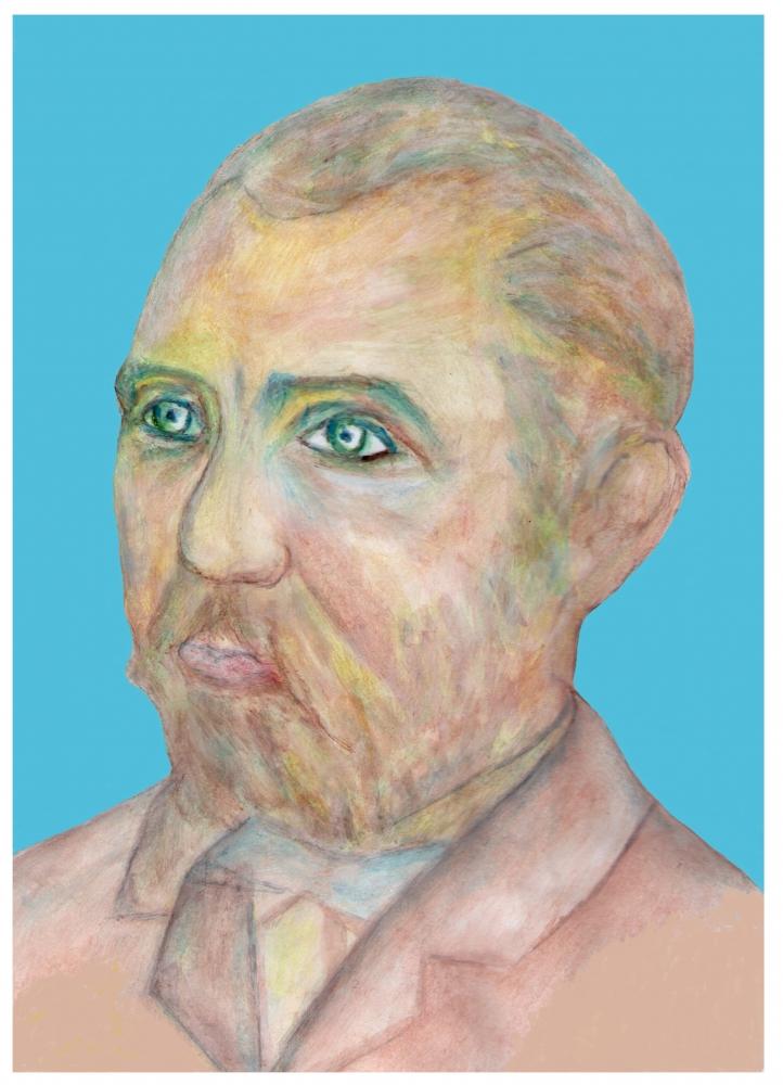 Vincent van Gogh by Vuilletjossjoss